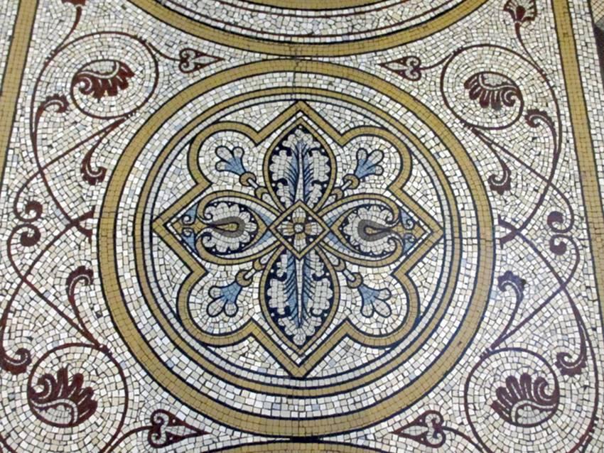 musterbl tter der mosaik fabrik von villeroy und boch mettlach 1886 teil 2 bodenplatten. Black Bedroom Furniture Sets. Home Design Ideas