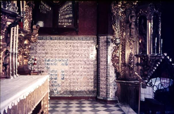 geschichte der fliese niederl ndische fliesen in der capilla de jesus nazareno in cadiz. Black Bedroom Furniture Sets. Home Design Ideas