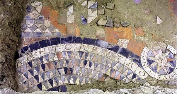 Geschichte der Fliese  Der keramische Schmuckfussboden