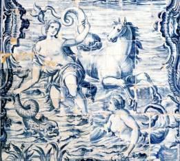 Geschichte Der Fliese Fliesen Im Garten Der Casa De Pesca Portugal - Portugiesische fliesen bilder