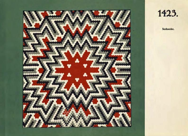 geschichte der fliese musterkatalog der mosaikfabrik sinzig 1925. Black Bedroom Furniture Sets. Home Design Ideas