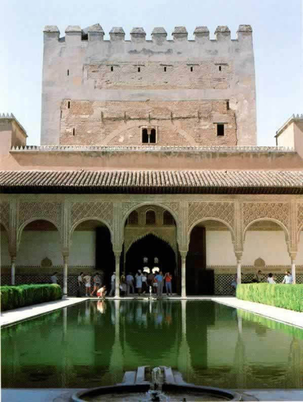 alhambra granada historie